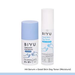 Biyu [BUNDLE] Hyaluronic Acid (HA) Serum + Toner