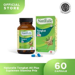 Naturalle Tongkat Ali Plus Suplemen Stamina Pria ( 1 x 60 Caps )