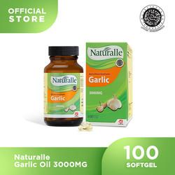 Naturalle Garlic Oil 3000MG ( 100 Softgel x 1 Botol )