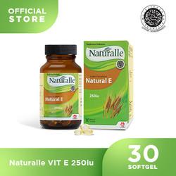 Naturalle Vit E 250IU ( 30 Softgel x 1 Botol )