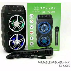 speaker blouthout karaoke plus mic SX 2006