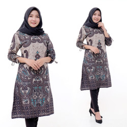 Tunik Batik Fashion Wanita Size Jumbo Terbaru