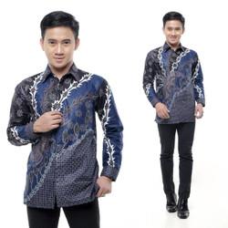 Kemeja Batik Fashion Pria Lengan Panjang