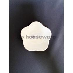 Piring lepek bunga keramik unik diameter 10 cm kecil hotelware 39-1