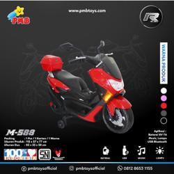 Motoran Aki M-588 NMAX (Merah) PMB