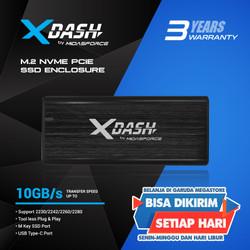 M.2 NVME PCIE ENCLOSURE MIDASFORCE X-DASH
