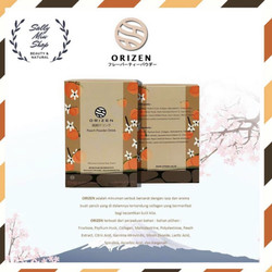 ORIZEN Peach Powder Drink + Collagen