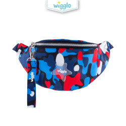 Wigglo Junior Waist Bag Red Army