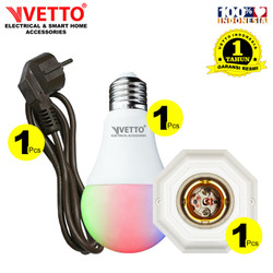 VETTO Paket 2 - Bulb 7W (1pcs) + Fitting S8 (1pcs) + Kabel 5m H (1pcs)