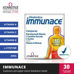 Vitabiotics Immunace Suplemen Untuk Daya Tahan Tubuh