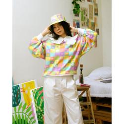 Flower Chess Sweatshirt