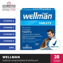 Vitabiotics Wellman Suplemen Kesehatan Reproduksi Pria