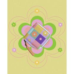 Flower Chess Wallet