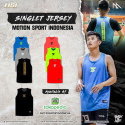 Jersey Gym Singlet by Motion Sport Indonesia