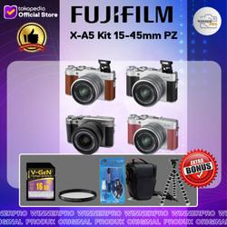 Fujifilm X-A5 Kit 15-45mm PZ - Kamera Fuji Film XA5 PAKETAN