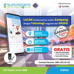 GPS Tracker SUPERSRPING C20 Pelacak Kendaraan SUPER SPRING C20