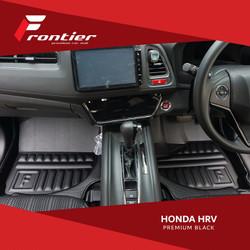 Karpet Mobil Frontier Untuk Honda HRV Type Classic Black