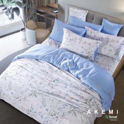 AKEMI Tencel Modal Ardent Quilt Cover Set+Free 1pc Quilt Queen 210x210
