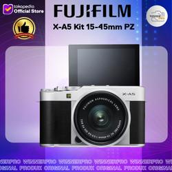 Fujifilm X-A5 Kit 15-45mm PZ - Kamera Fuji Film XA5 + Lensa 15-45mm