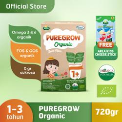 PUREGROW Organic 720gr Girl Version Free Arla Kids Cheese Sticks
