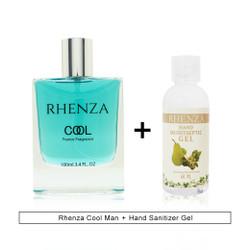 Rhenza Cool Man & Hand Sanitizer Gel
