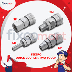 Tekiro Quick Coupler Two Touch (SM) 40 SM / Alat Konektor Kompressor