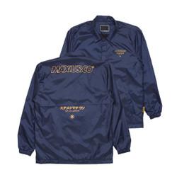 """Maxius Coach Jacket - """"KUMA"""" Blue"""