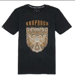 Snapback Tshirt Hitam Barong 02