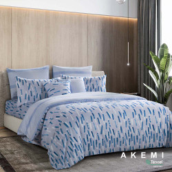AKEMI Tencel Touch Serenity Fitted Sheet Set Super Single 120x200