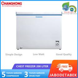CHANGHONG Chest Freezer 200L - CBD 205