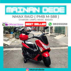 Mainan Motor Aki NMAX RAID PMB M588 GOJEK MURAH