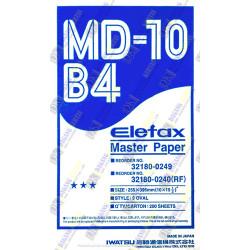 Master Paper Elefax / Kertas Master Elefax MD-10 ukuran B4