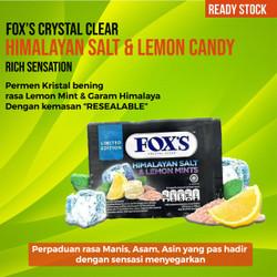 Permen FOX Himalayan salt lemon mint candy