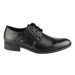 Sepatu Pantofel Pria Asap 3FA Black