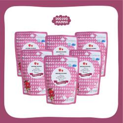 "Paket 6 pcs Ddo Ddo Mamma Strawberry Yogurt Baby Snack 1 tahun ""30 gr"""