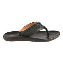 Sandal Kulit Pria Seek 1ZK Black