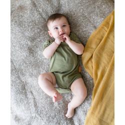 Takoyakids Essentials Miki Short Sleeves Bodysuits Olive