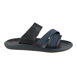 Sandal Kulit Pria Seek 3ZK Navy