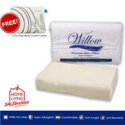 Bantal Latex Ergonomic Jumbo BONUS Ergonomic Back Cushion Latex