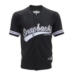Snapback Baseball Jersey Kancing