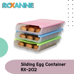 ROXANNE Sliding Egg Container RX-202