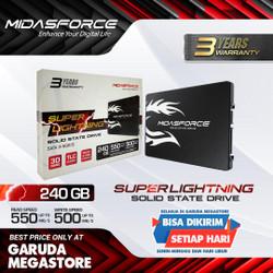SSD-Solid State Drive Midasforce 240GB SUPER LIGHTNING SATA III-6GB/S