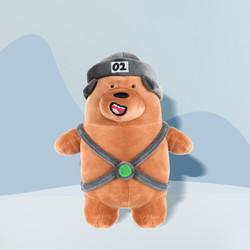 Miniso Official Boneka We Bears Bare Lying Plush Toy mainan beruang