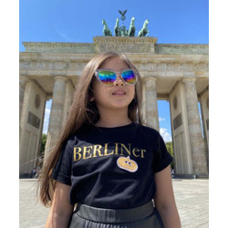 Kids Talk About Berliner Holiday Tee Gold Patch Limited Edition Unisex