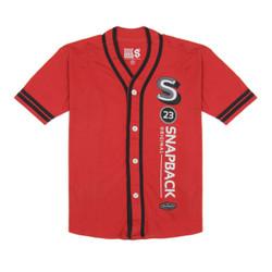 Snapback Baju Anak Baseball Kancing