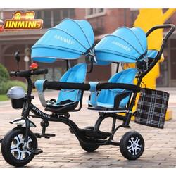 Sepeda Anak Stroller Sepeda Anak Kembar Roda 3 Ganda Asli Impor