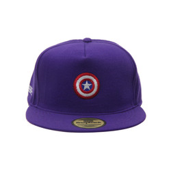 Snapback Topi Hiphop Dewasa Logo Captain America
