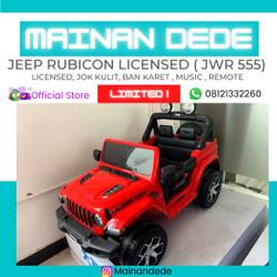 Mainan Mobil Aki Anak Jeep Rubicon Licensed