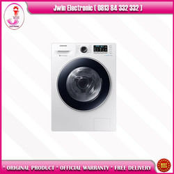 Samsung WW90J54E0BW Mesin CuciFront Loading with Ecobubble, 9 Kg