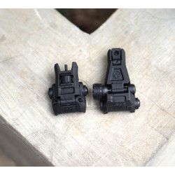 Pisir MBUS PRO Pisir Lipat MBUS Rear Front Sight Folding Sight Kekeran